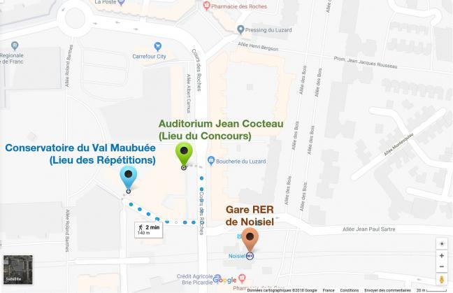 Localisation cmf paris 5